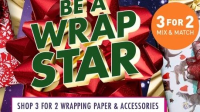 Paperchase | 3 for 2 Christmas Wrap