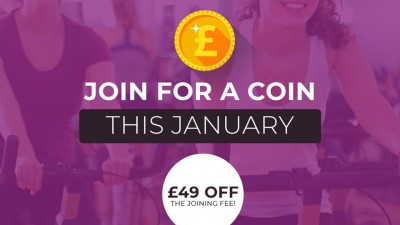 Join For a Coin This January at Healthlands