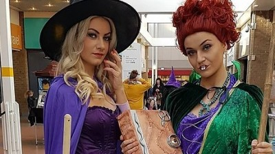 Halloween | Broomstick Training with the Sanderson Sisters