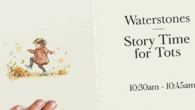 Summertime Story Time at Waterstones
