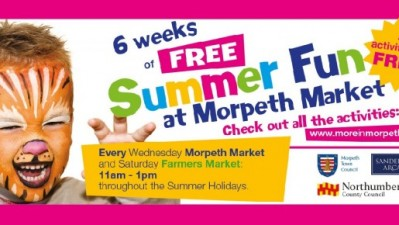 6 Weeks of Summer Fun at Morpeth Market