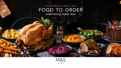 Marks and Spencer, Christmas & New Year Food to Order