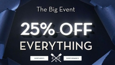 Crew Clothing | 25% off EVERYTHING