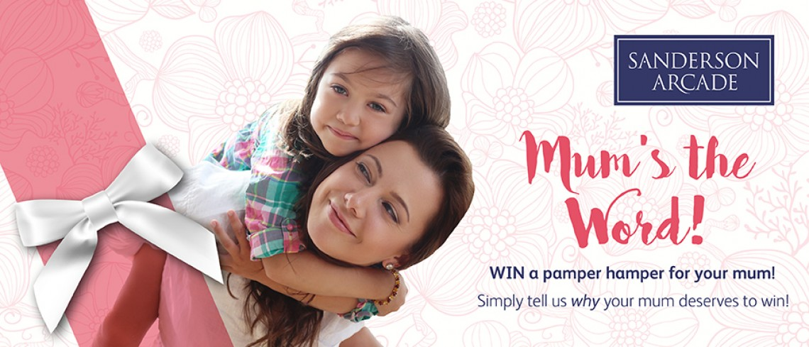 Mum's the word- Win a pamper hamper this Mother's Day!