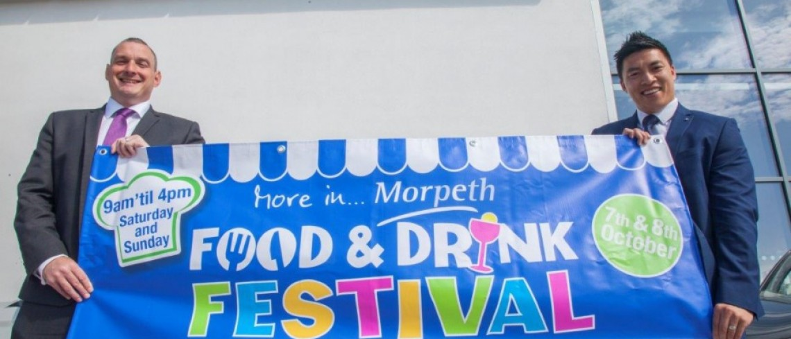 Stratstone Tyneside BMW announce sponsorship of Morpeth Food and Drink Festival!
