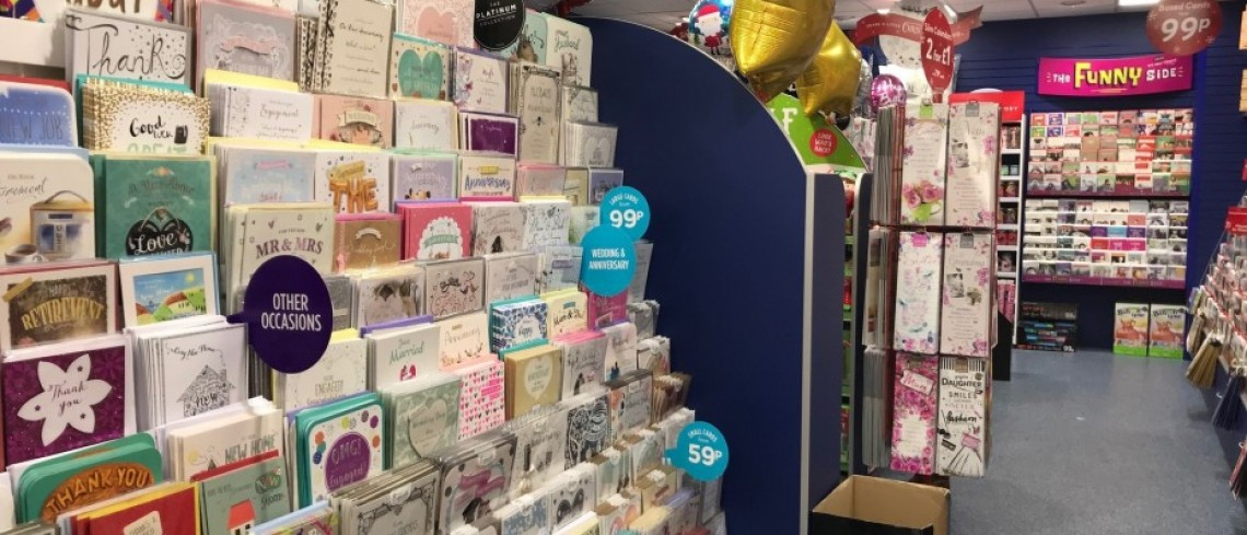 Card Factory to open new store at Sanderson Arcade