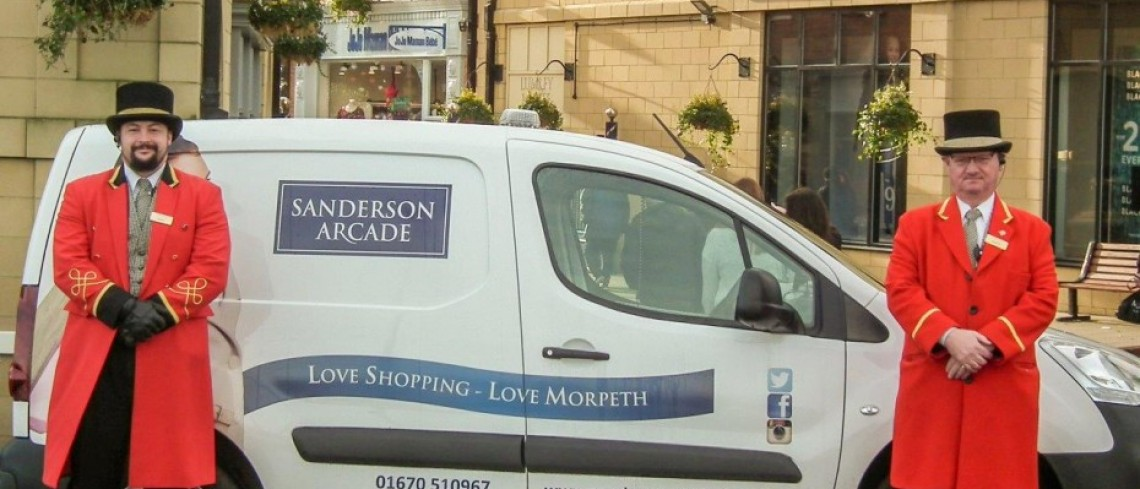 Christmas delivery service launched at Sanderson Arcade
