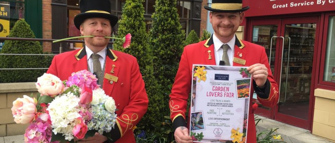 Garden Lovers Fair comes to Sanderson Arcade