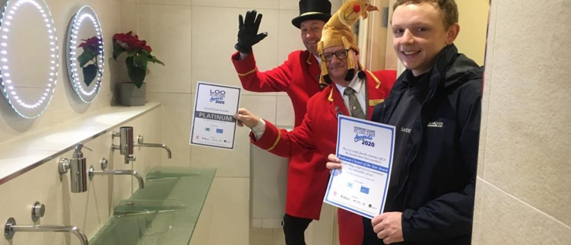 'Loo'sers Weep as Sanderson Arcade Grab Another Win for Loo of the Year