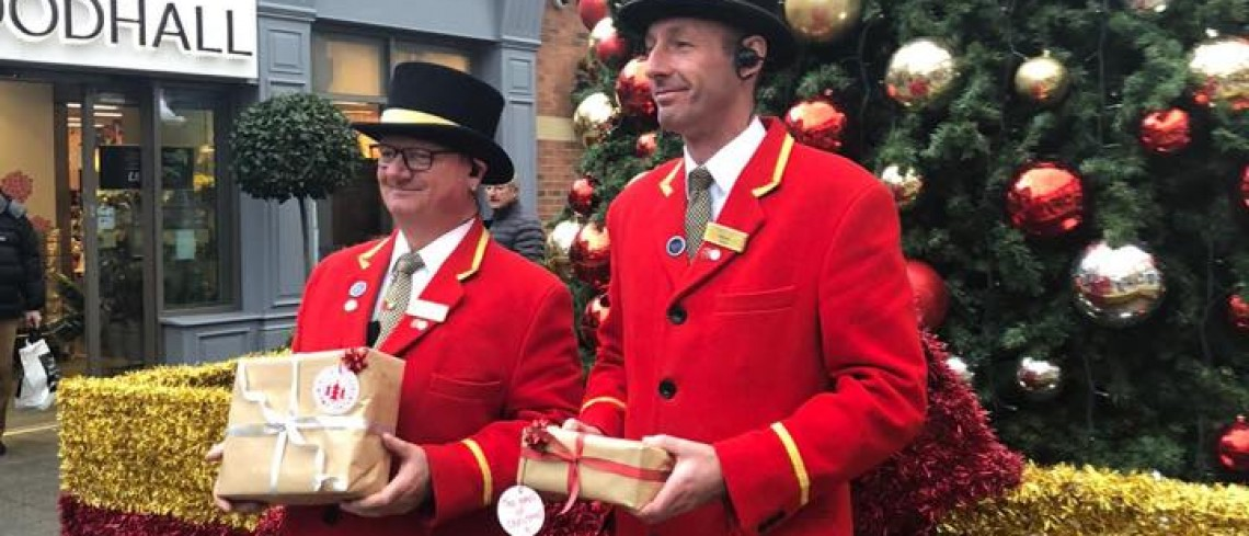 Chance to Win a Car Full of Christmas at Sanderson Arcade