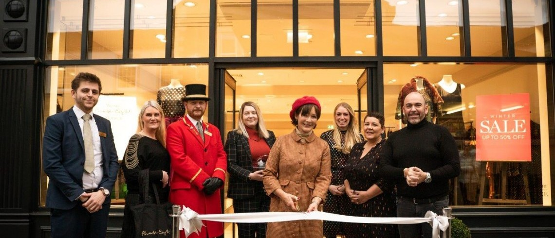 Royal reception for Morpeth's new Phase Eight store