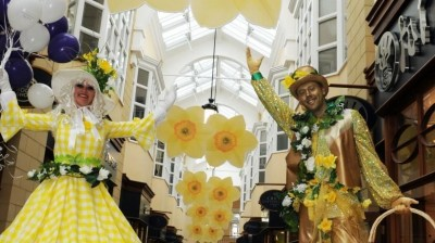 Egg-stra Entertainment on offer this Easter at Sanderson Arcade
