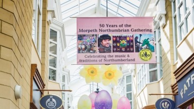 New Arcade Display Celebrates The Morpeth Northumbrian Gathering's Half Century