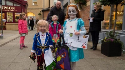 Crowds Turn Out at Sanderson Arcade for Annual Spooktacular event