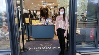 Sandersons team prepare to reopen for Christmas countdown!