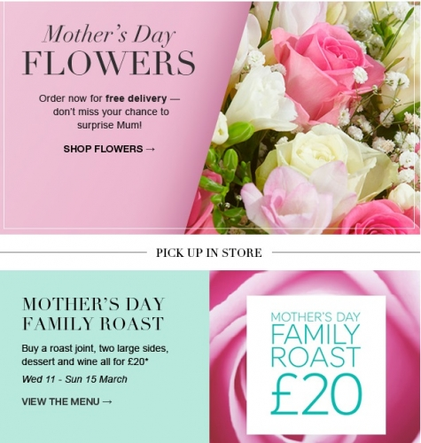 Mother's Day Offers at Marks and Spencer! - Retail ...